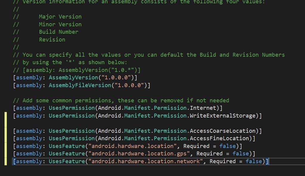 localizar dispositivo en android con xamarin paso 3
